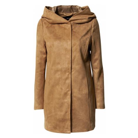 VERO MODA Płaszcz przejściowy 'Savina' brązowy