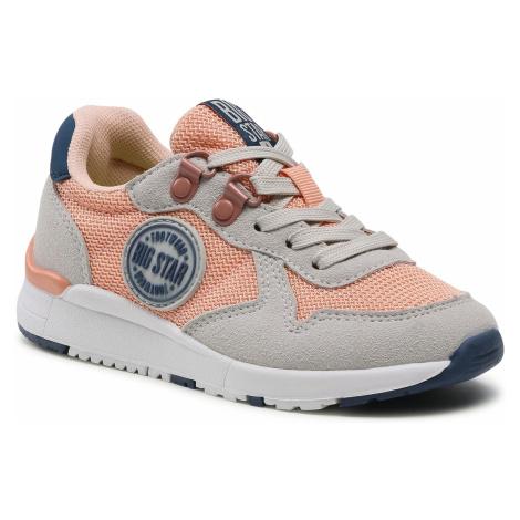 Sneakersy BIG STAR - HH374180 Hell Orange