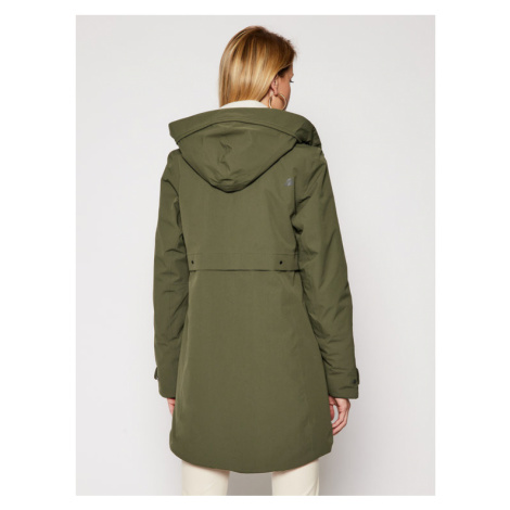 Didriksons Parka Helle 503169 Zielony Classic Fit
