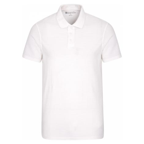 Strad - męskie polo - White