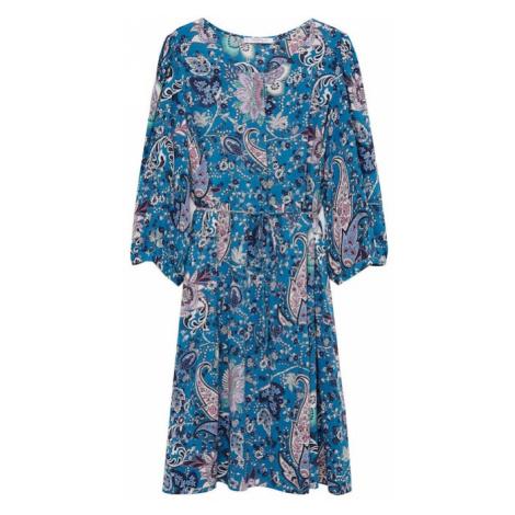 VIOLETA by Mango Sukienka błękitny / mieszane kolory
