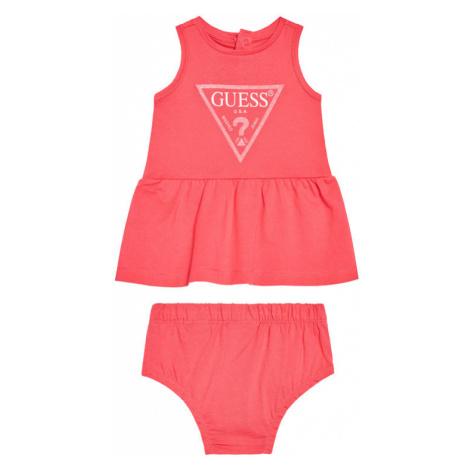 Guess Sukienka codzienna A01K15 K82F0 Różowy Regular Fit