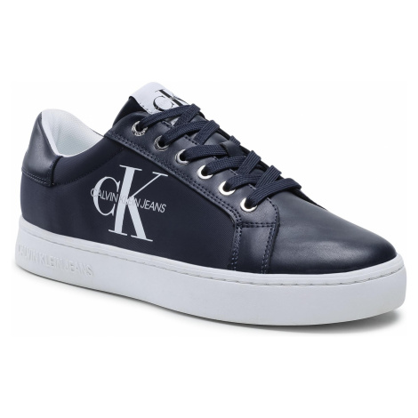 Sneakersy CALVIN KLEIN JEANS - Cupsole Sneaker Laceup Pu-Ny YM0YM00029 Night Sky CHW
