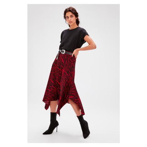 Spódnica damska Trendyol Asymmetric