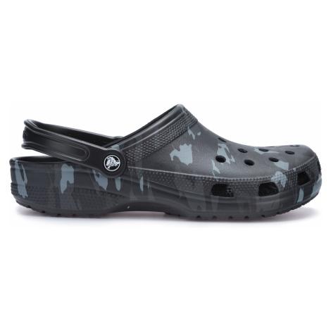 Crocs Classic Seasonal Graphic Clog Crocs Czarny