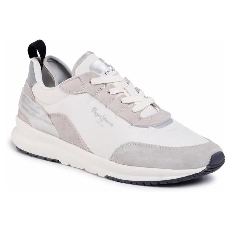Sneakersy PEPE JEANS - N22 Summer PMS30624 Optic White 802
