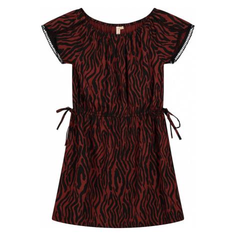 Shiwi Sukienka 'havana' czerwony / czarny