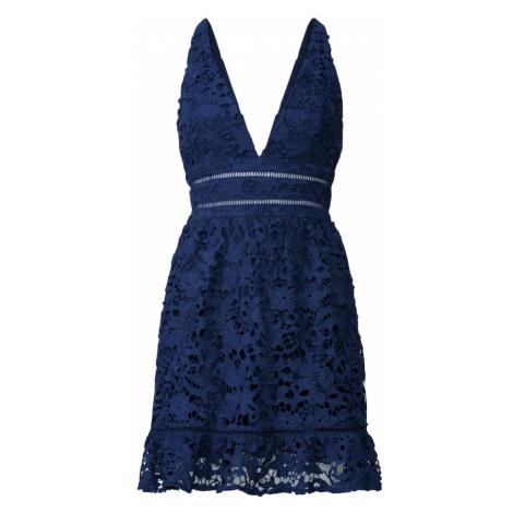 Love Triangle Sukienka koktajlowa 'Snow Storm' granatowy