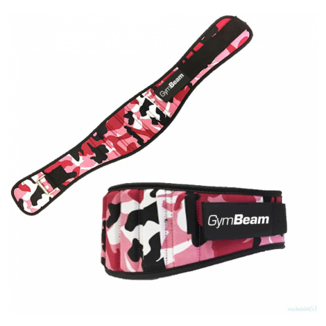 GymBeam Damski pas do fitnessu Pink Camo