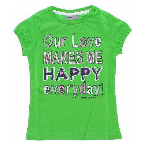 Geox Koszulka dziecięce Zielony