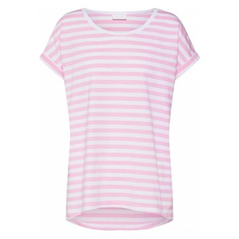 VILA Koszulka 'Dreamers' różowy / biały