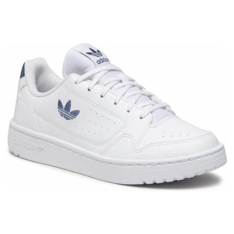 Buty adidas - Ny 90 J FX6472 Ftwht/Creblu/Ftwwht