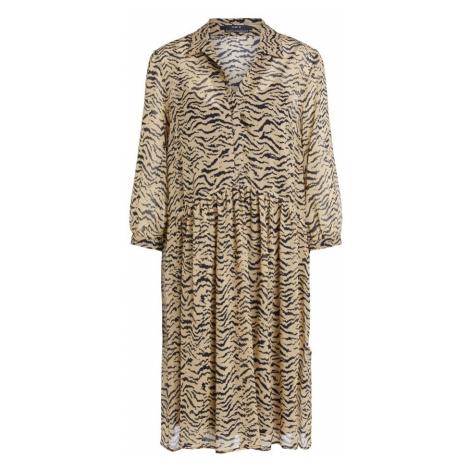 Zebra loose fitting short dress