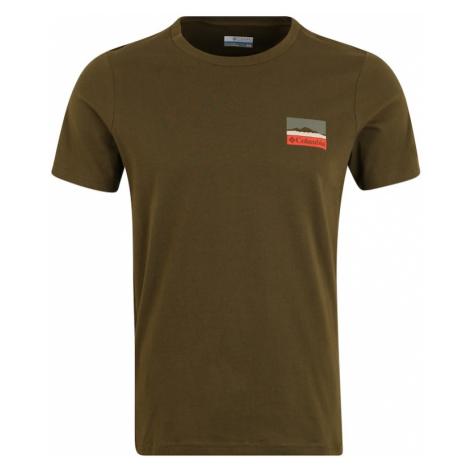 COLUMBIA Koszulka funkcyjna 'Rapid Ridge' oliwkowy