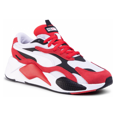 Sneakersy PUMA - Rs-X³ Super 372884 01 Puma White/High Risk Red