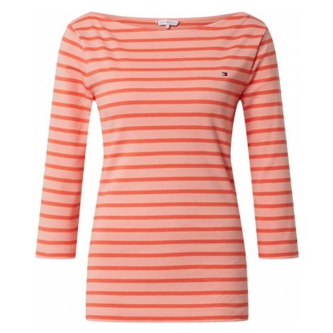 TOMMY HILFIGER Koszulka 'AISHA' różowy pudrowy / koralowy