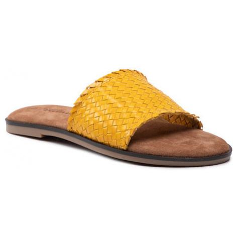 Tamaris Klapki 1-27113-26 Żółty