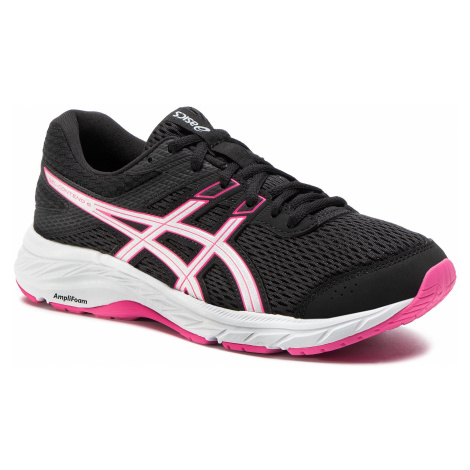 Buty ASICS - Gel-Contend 6 1012A570 Black/Pink Glo