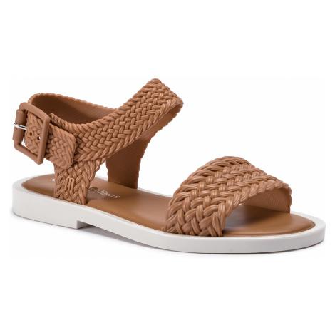 Sandały MELISSA - Mar Sandal + Salinas A 32482 Brown/White 50672