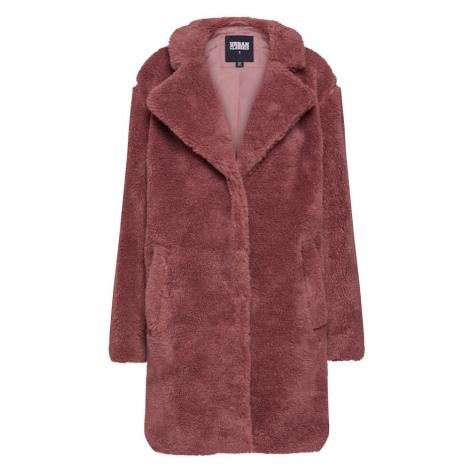 Urban Classics Płaszcz przejściowy 'Sherpa Coat' różany