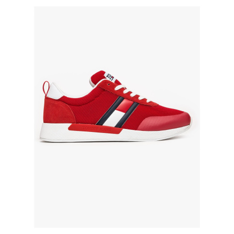 """Tommy Jeans """"Flexi Tommy Jeans Flag Sneaker"""" Red Tommy Hilfiger"""