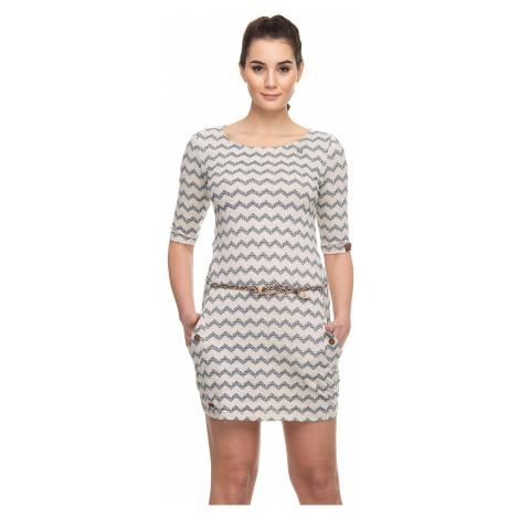 sukienka Ragwear Tanya Zig Zag - 6000/Beige