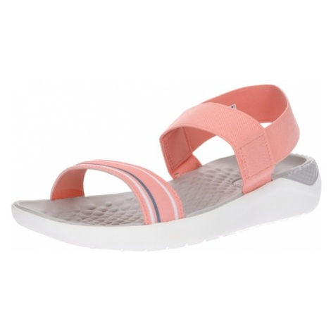 Crocs Sandały z rzemykami 'LiteRide Sandal W' różowy pudrowy