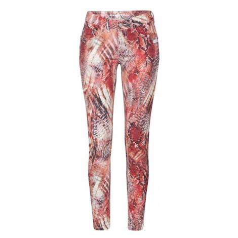 Gang Spodnie 'GIOIA' mieszane kolory / czerwony