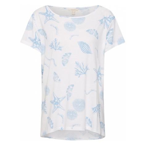 ESPRIT Koszulka 'Sea' jasnoniebieski / offwhite