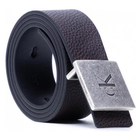 Calvin Klein Pasek Męski Square Plaque Rey Belt 38Mm K50K506552 Czarny