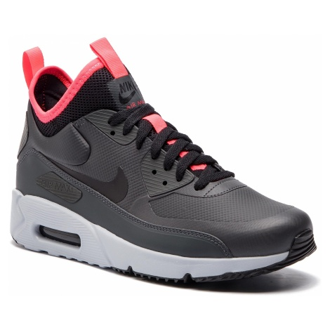 Buty NIKE - Air Max 90 Ultra Mid Winter 924458 003 Anthracite/Black/Solar Red