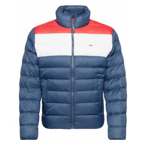 Tommy Jeans Kurtka zimowa czerwony / biały / niebieski Tommy Hilfiger