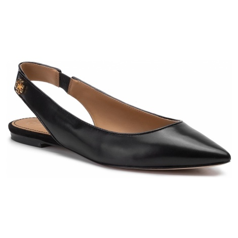Sandały TORY BURCH - Kira Slingback Flat 57234 Perfect Black 004