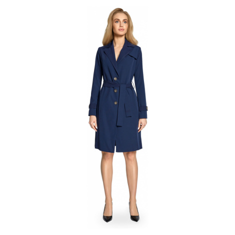 Stylove Woman's Jacket S094 Navy Blue