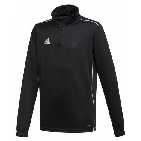 ADIDAS PERFORMANCE Bluza sportowa 'Core 18' biały / czarny