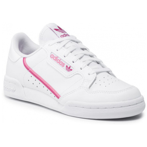 Adidas Buty Continental 80 J FY2706 Biały