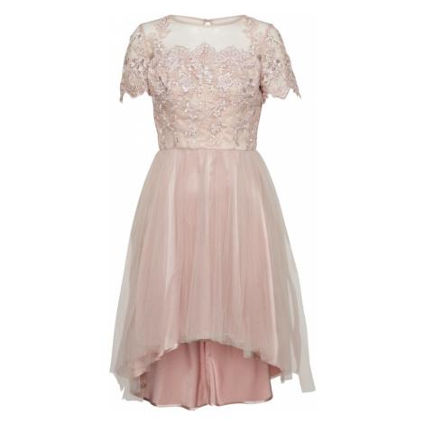 Chi Chi London Sukienka koktajlowa różowy pudrowy