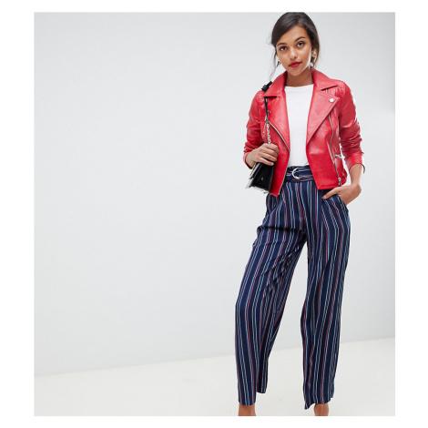 Oasis wide leg trousers in stripe