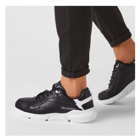 Trussardi Jeans Sneakersy 77A00277 Czarny