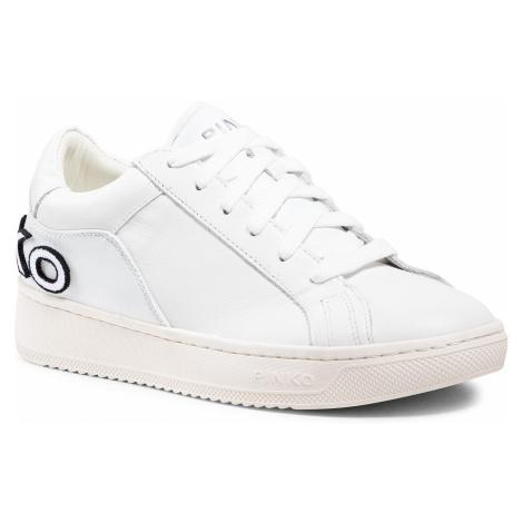 Sneakersy PINKO - Liquirizia Low Top 10 Sneaker. PE 21 BLKS1 1H20V7 Y73C White Z04