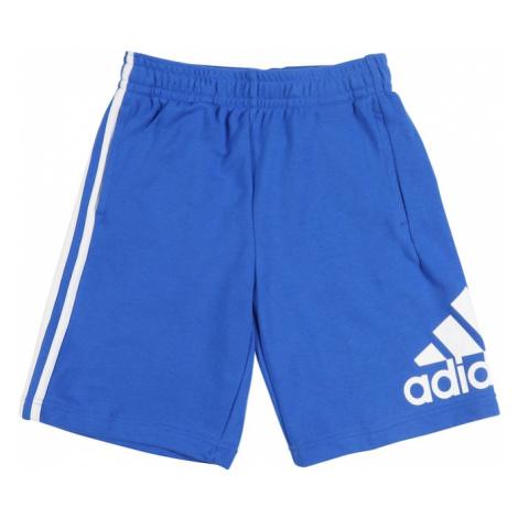 ADIDAS PERFORMANCE Spodnie sportowe biały / niebieski