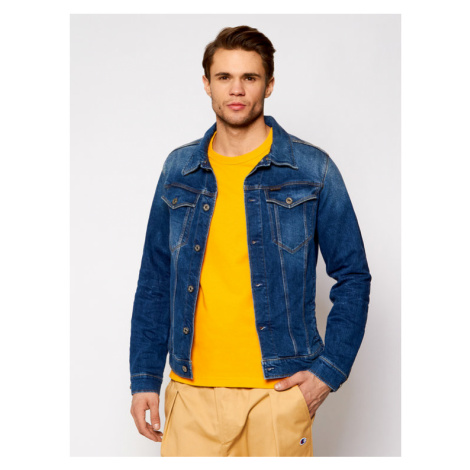 G-Star Raw Kurtka jeansowa 3301 D11150-C052-A951 Granatowy Slim Fit