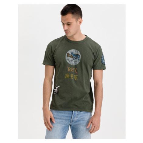 Replay Koszulka Zielony