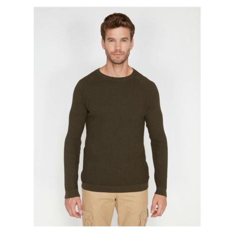 Koton Men's Bicycle Collar Sweater