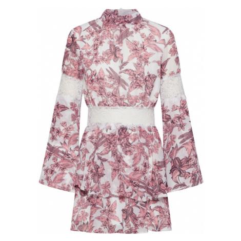 Missguided Letnia sukienka jagoda / biały
