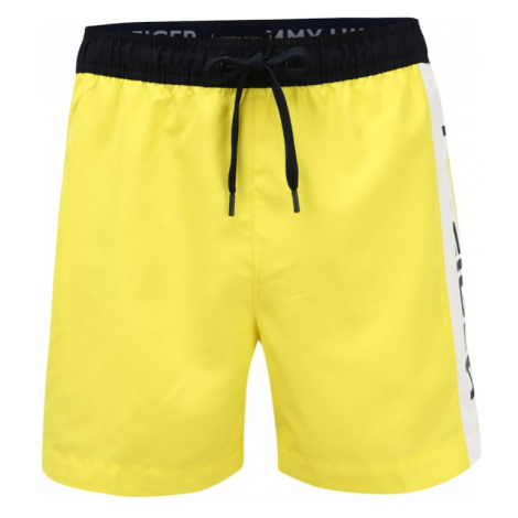 Tommy Hilfiger Underwear Szorty kąpielowe żółty / czarny