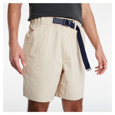 Tommy Jeans Belted Beach Short Soft Beige Tommy Hilfiger