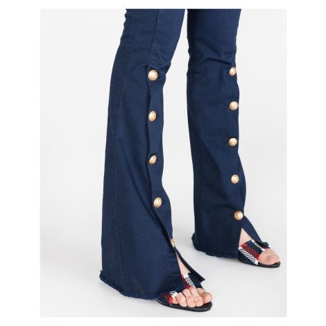 Pinko Alisso Spodnie Niebieski