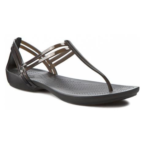 Sandały CROCS - Isabella T-Strap 202467 Black