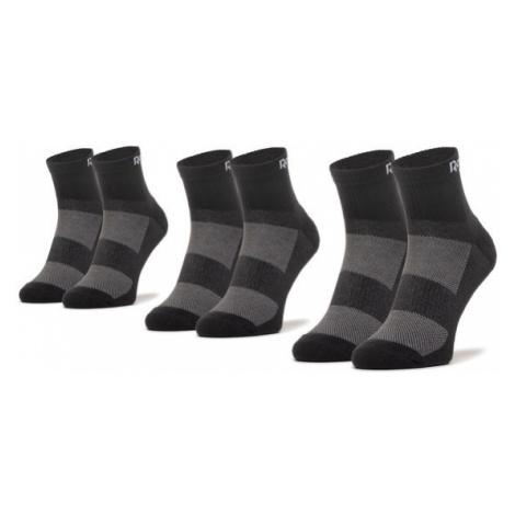 Reebok Zestaw 3 par wysokich skarpet unisex Te Ank Sock 3P GH0419 Czarny